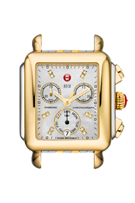 Michele Watches - Deco Day Diamond Two-Tone