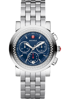 Sport Sail Diamond Navy Dial at Tourneau