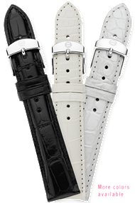 Michele 18MM Alligator Strap