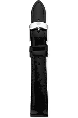18MM Patent Leather Strap at Tourneau