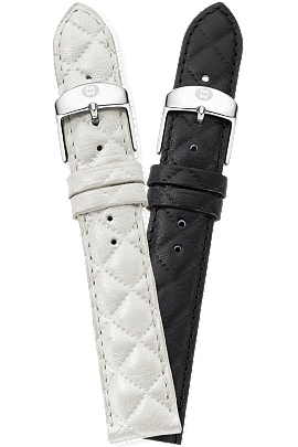 18MM Quilted Leather at Tourneau