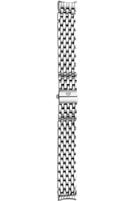 Cloette 7-link Stainless Steel Bracelet at Tourneau