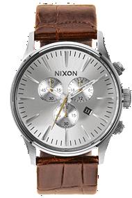 Nixon | The Sentry Chrono Leather A4051887