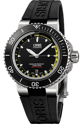 Oris Aquis Depth Gauge at Tourneau | 0173376754154-Set