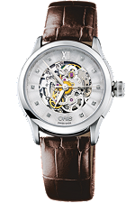 Oris | Oris Artelier Skeleton Diamonds | 560 7604 4019.LS
