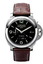 panerai luminor 1950 10 days GMT watch