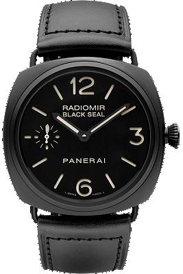 Radiomir Black Seal Ceramica - 45MM at Tourneau | PAM00292