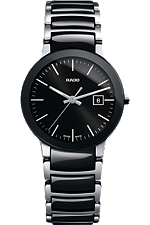 Rado Centrix Small Quartz Black Dial | R30935162 at Tourneau