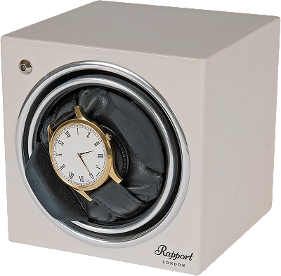 Rapport White Evolution Cube Single Unit Winder at Tourneau