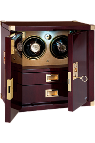 Rapport Mariner's Chest Mahogany Duo Winder at Tourneau
