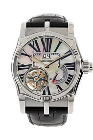 18K White Gold Sympathie  Marine Flying  Tourbillon Manual at Tourneau