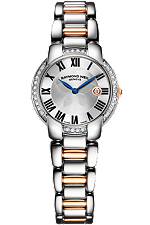 Raymond & Weil | Jasmine 29 mm Two-tone 28 diamonds