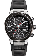 Salvatore Ferragamo F-80  Quartz Chronograph 44mm | F55LCQ78909 S113