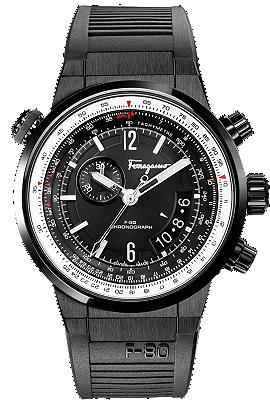 Salvatore Ferragamo | F-80 Pilot Chronograph 44mm | FQ202 0013