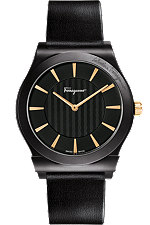 Salvatore Ferragamo | Ferragamo 1898 Slim Ceramic 41mm | FQ302 0013