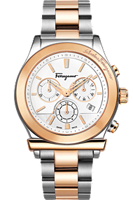 Salvatore Ferragamo | Ferragamo 1898 Quartz Chronograph 42mm | F78LCQ9501 S095h 42mm at Tourneau