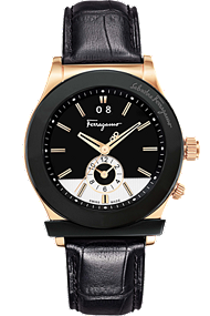 Ferragamo 1898 Quartz Dual Time 40mm | F62LDT5213 S009