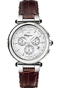 Salvatore Ferragamo | Idillio Quartz Chronograph 42mm | F77LCQ9902 SB25ourneau