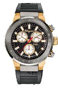 Salvatore Ferragamo | Ferragamo F-80 Chronograph Black Dial |F55020014 SFG0100030