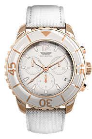 44 mm White & Rose Gold Chronograph at Tourneau