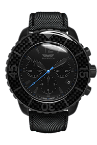 Skywatch | 44mm Chrono Black IP | CCI022