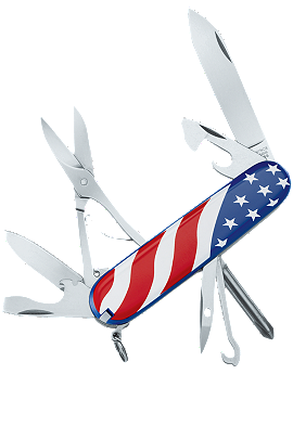 Victorinox Swiss Army | Super Tinker United States Flag | 53342