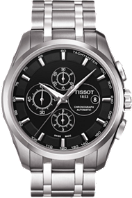 Couturier Men's Black Automatic Stainless Steel at Tourneau