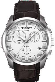 Couturier Men's GMT Silver Quartz Trend at Tourneau