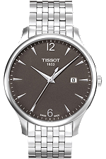 Tradition Men's Anthracite Quartz Classic at Tourneau