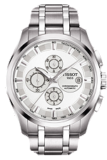 Couturier Men's Silver Chronograph Automatic Trend at Tourneau