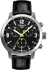 PRC 200 Men's Black Chronograph Quartz Sport Watch at Tourneau