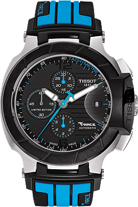 T-Race Men's Moto GP Limited Edition 2013 Black Automatic Watch at Tourneau