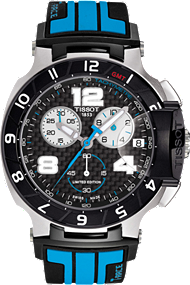 T-Race Men's Moto GP Limited Edition 2013 Black Quartz Watch at Tourneau