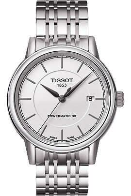Carson Men's Automatic White Classic Watch with Stainless steel Bracelet at Tourneau