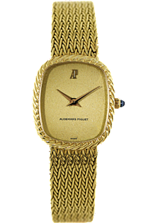 18K Yellow Gold Vintage Oval Manual Circa 1970 at Tourneau