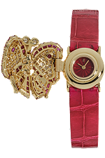 used Audemars Piguet diamond and rubies butterfly quartz