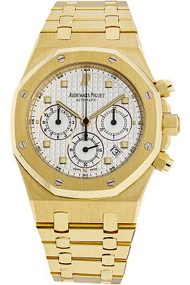 18K Yellow Gold Royal Oak Chronograph Automatic at Tourneau
