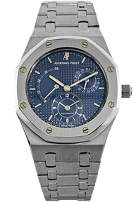 Used Audemars Piguet Platinum Royal Oak Dual Time Automatic watch
