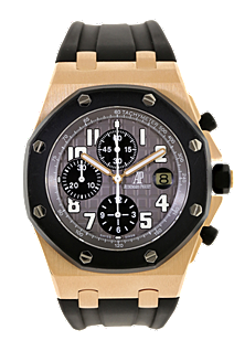 used Audemars Piguet 18K Rose Gold Royal Oak Offshore Automatic watch