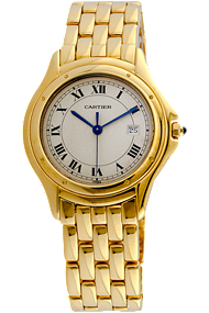 18K Yellow Gold Cougar Quartz at Tourneau