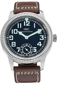 Stainless Steel Vintage Pilot Watch Hand Wound Manual at Tourneau