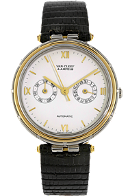 18K Yellow Gold and Stainless Steel Round Automatic at Tourneau