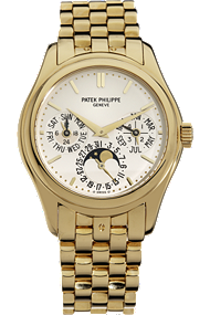 18K Yellow Gold Perpetual Calendar Automatic Reference 5136 at Tourneau