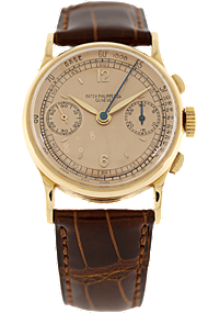 18K Rose Gold Chronograph Reference 130 Manual at Tourneau