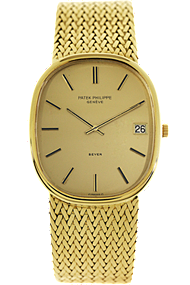 18K Yellow Gold Jumbo Golden Ellipse Automatic Circa 1970's at Tourneau