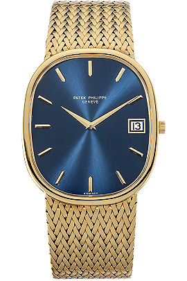 18K Yellow Gold Jumbo Golden Ellipse Automatic Reference 3605 Circa 1970s at Tourneau