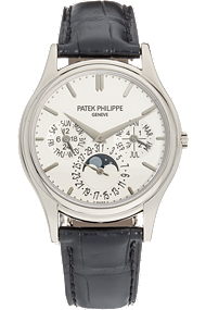 18K White Gold Perpetual Calendar Automatic Reference 5140 at Tourneau