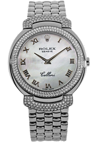 Used Rolex watch - 18K White Gold Cellini Quartz