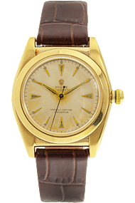 Pre-Owned 14K Yellow Gold Bubble Back Automatic Circa 1920s