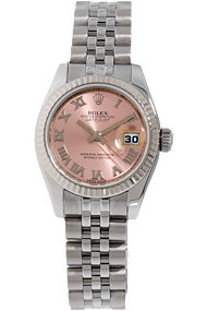 18K White Gold and Stainless Steel Datejust Automatic at Tourneau